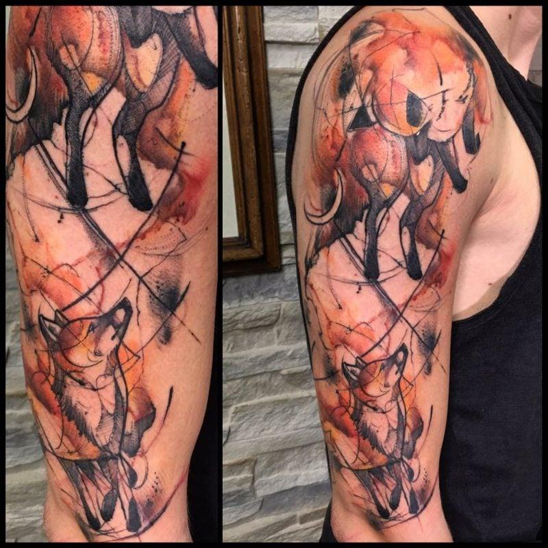 wolken tattoo tattoo nicole