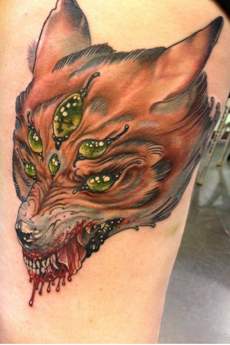 Fuchs Tattoo Hasselich