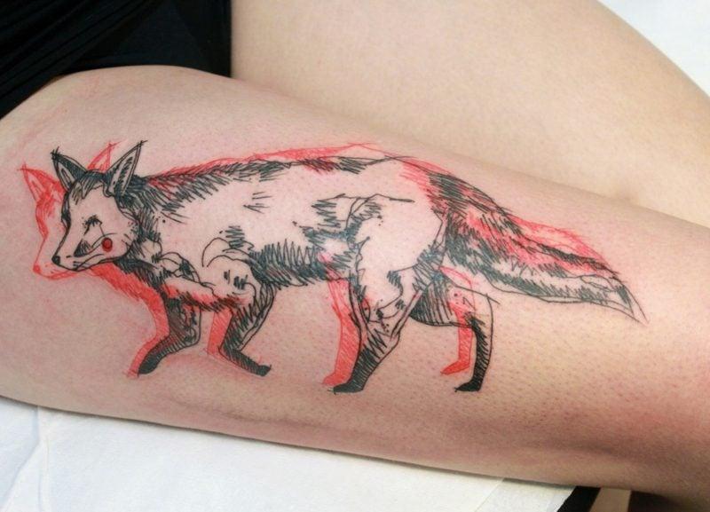 Fuchs Tattoo Spirit