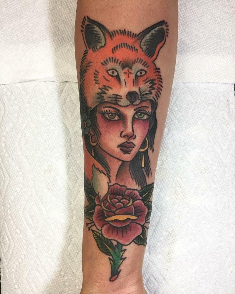 tattoos mit bedeutung totem