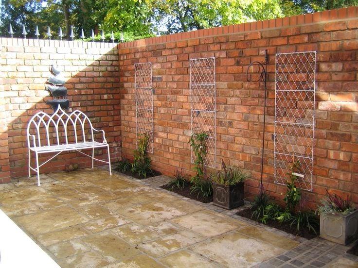 Ziegelmauer bauen