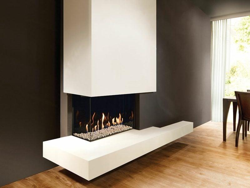 Moderne Gaskamine sind eine attraktive Alternative zur klassischen Befeuerung mit Holz
