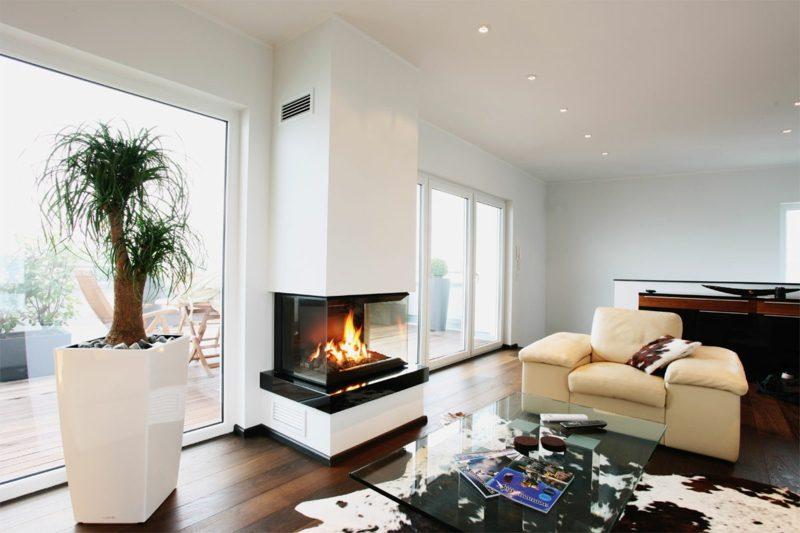 gaskamine 50 ideen f r ein gem tliches ambiente. Black Bedroom Furniture Sets. Home Design Ideas