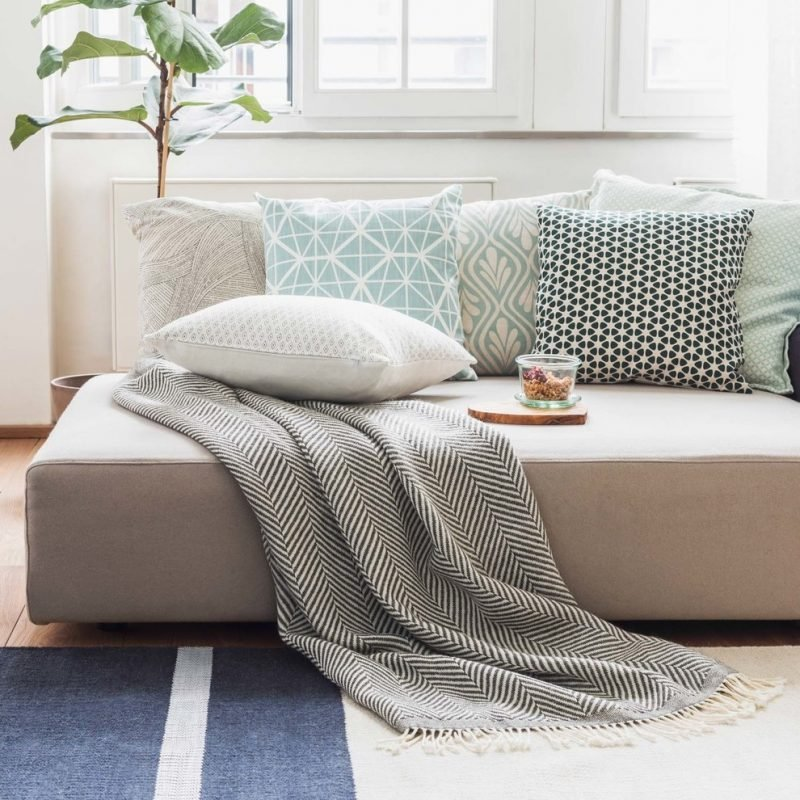 skandinavischer stil geometrische figuren und muster in dekoration innendesign zenideen. Black Bedroom Furniture Sets. Home Design Ideas