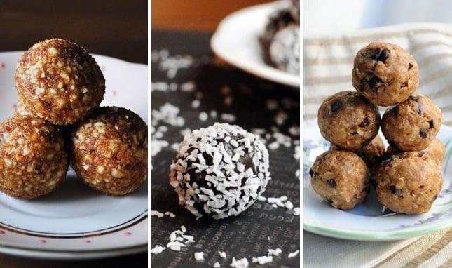 gesunde süßigkeiten power pralinen kalorienarme süßigkeiten