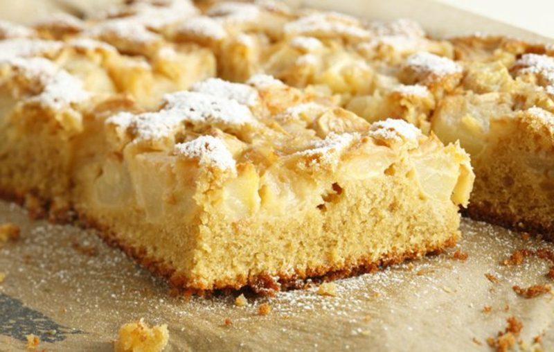 zuckerfreier Kuchen Äpfel Ahornsirup