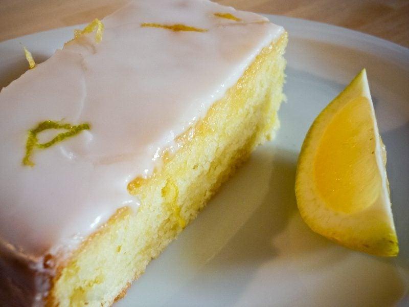 Kuchen ohne Zucker backen Zitronenkuchen