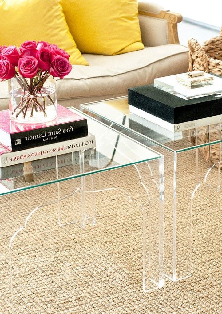 wohnzimmer gestalten einrichtungsideen tisch aus glas
