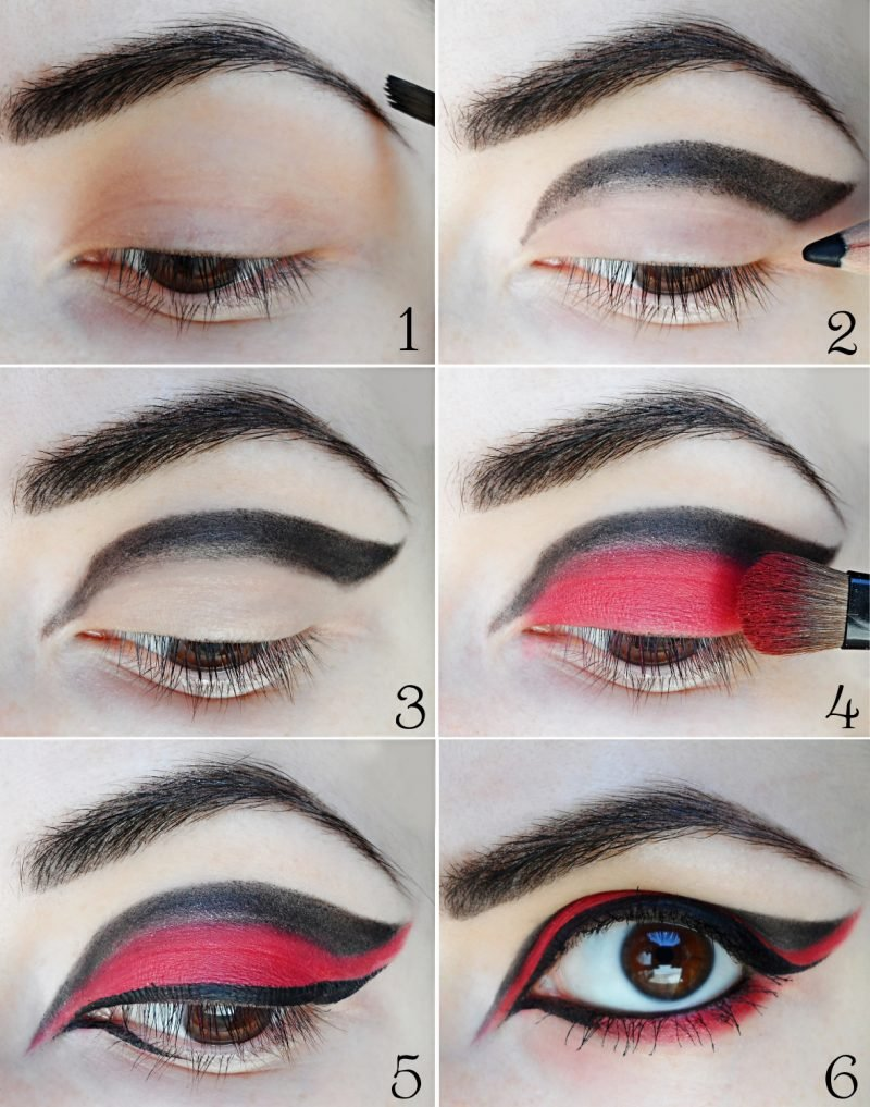 Fasching make up im letzten moment clown schminken - Elegantes make up anleitung ...