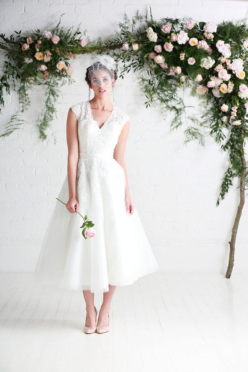 Kurzes Brautkleid - was sollten wir wissen
