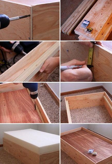 bett selbst bauen anleitung einzelbett selber bauen schritt für schritt