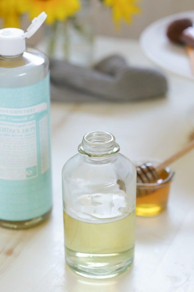 honig gesund maske mit honig haarkur