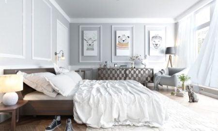 Skandinavische Ideen für das Schlafzimmer