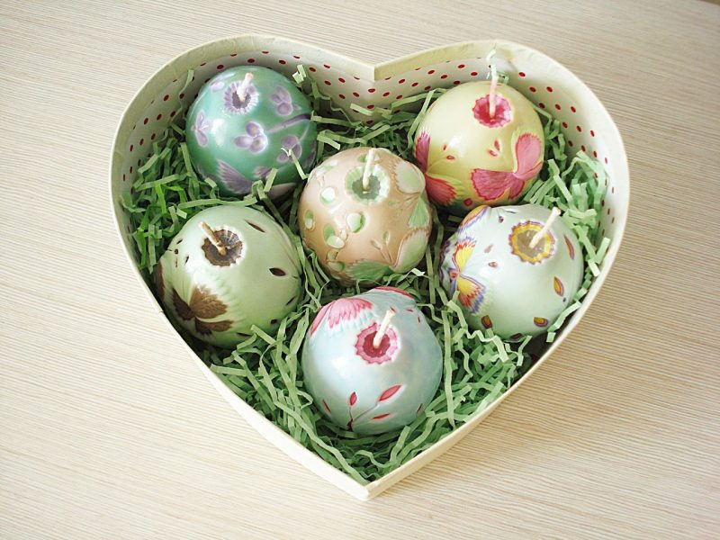 Bastelideen für Ostern: Kerzen aus Eierschalen selber ...