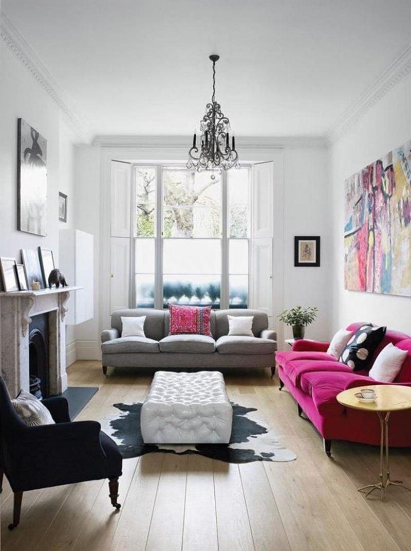 kleines wohnzimmer einrichten - 70 frische wohnideen, Wohnzimmer dekoo