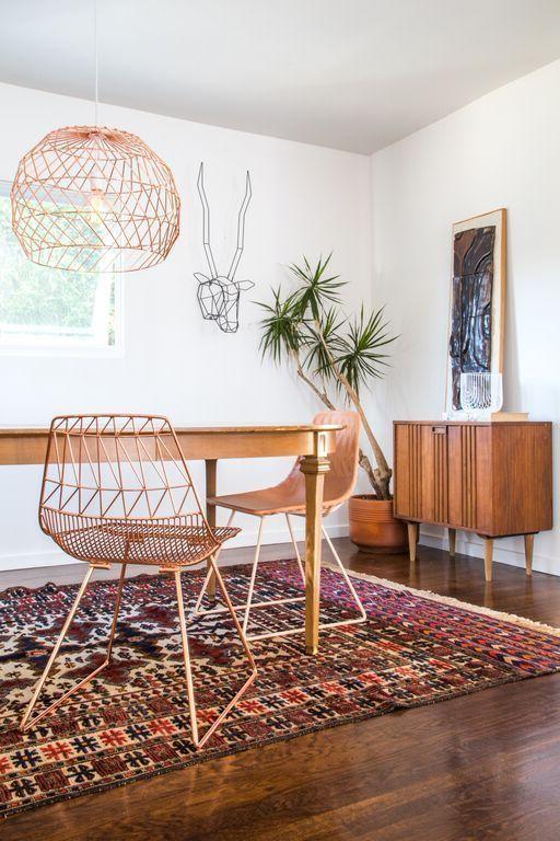 schöne wohnideen einrichtungstipps einrichtungsideen stuhl tisch möbel wohnideen wohnzimmer kupfer garten und wohnen