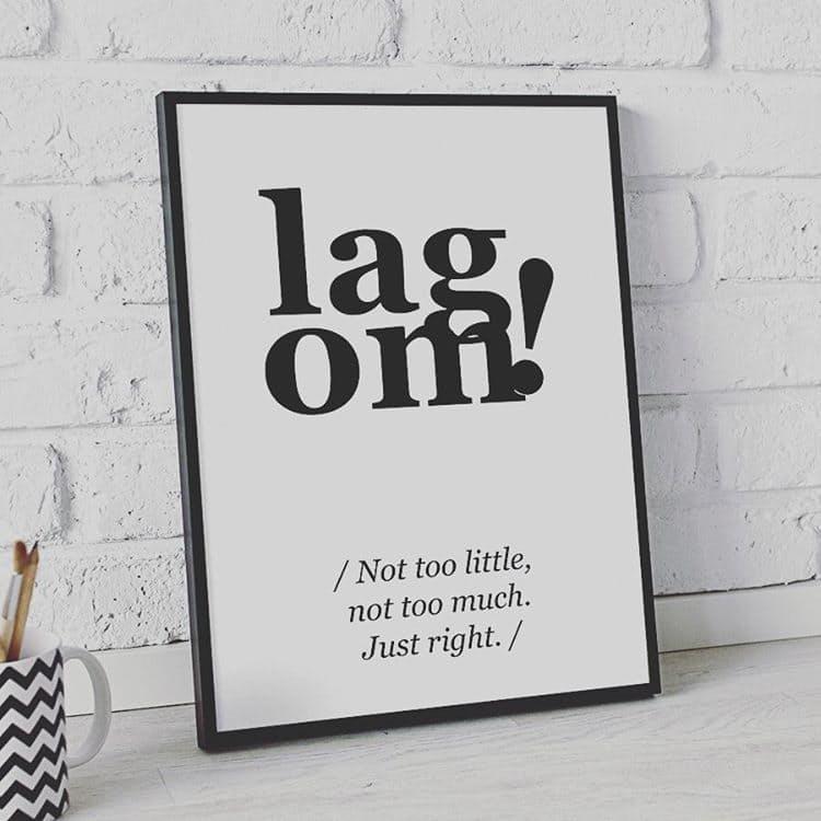 Lagom ist das neue Hygge 2017