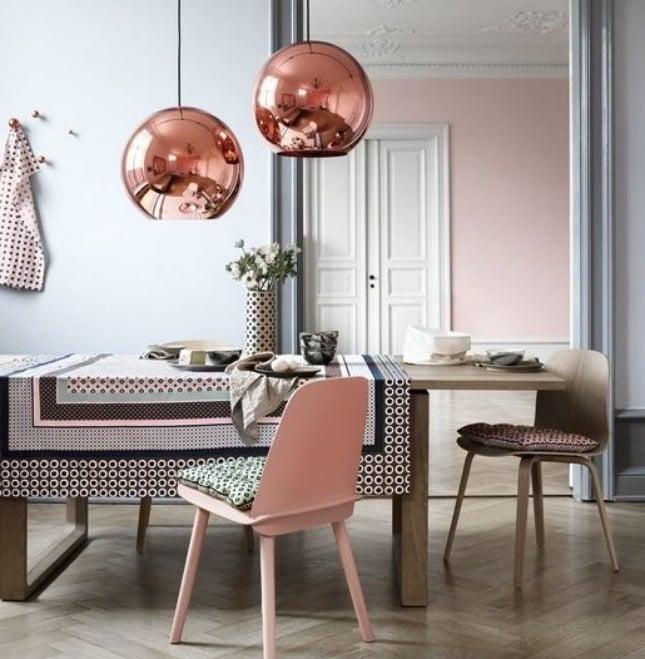 wohnideen selber machen diy wohnidee einrichtungsideen lampenschirm wohnzimmer ideen kupfer