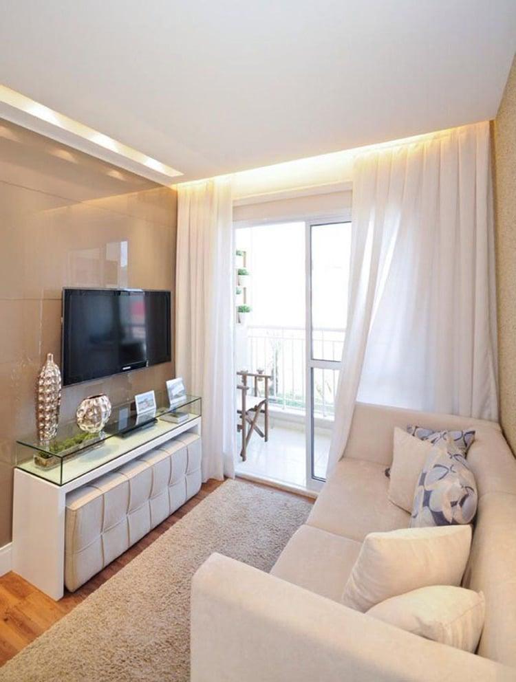 Kleines wohnzimmer einrichten 70 frische wohnideen for Como e living room em portugues
