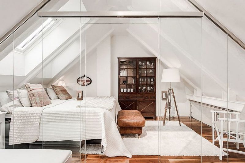 schlafzimmer gestalten ideen luxus skandinavischer stil möbel