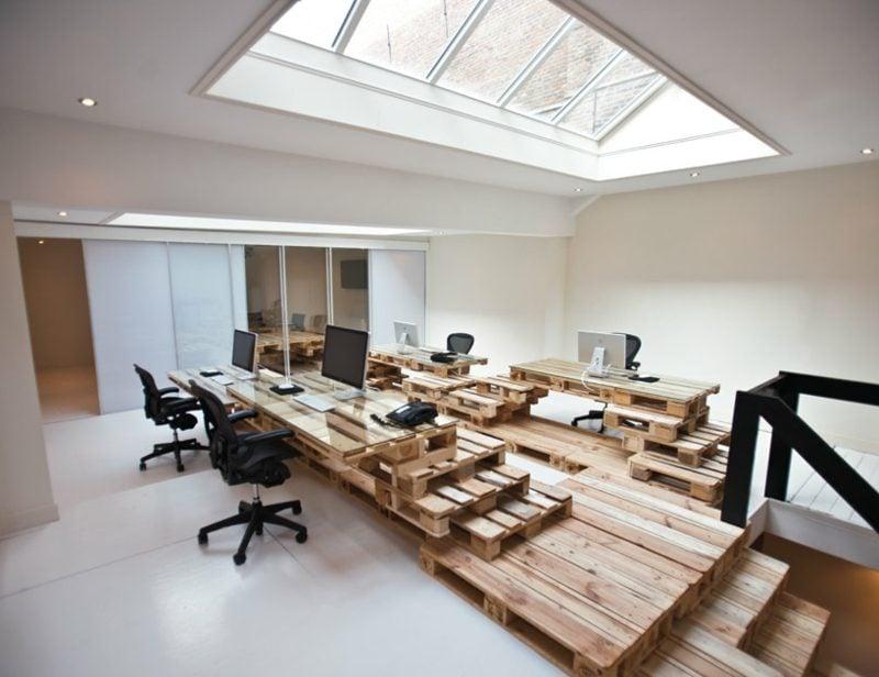 Möbel aus Europaletten -- Wohnideen für Einrichtung