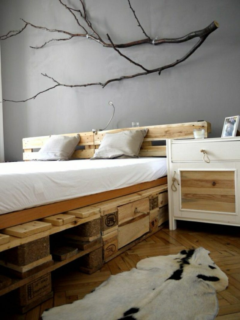 50 ideen f r m bel aus europaletten bastelideen m bel zenideen. Black Bedroom Furniture Sets. Home Design Ideas