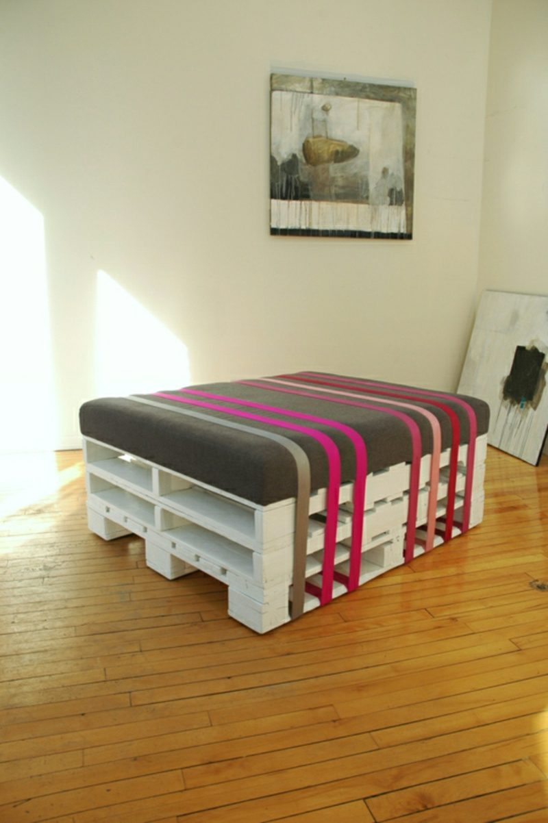 Palettenmöbel selber bauen