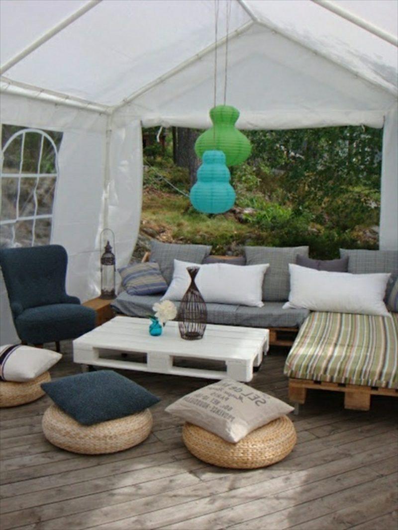 50 Ideen für Möbel aus Europaletten - bastelideen, Möbel ...