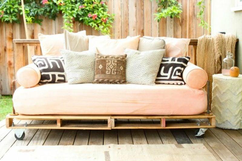 Palettenmöbel selber bauen – Vintage Look