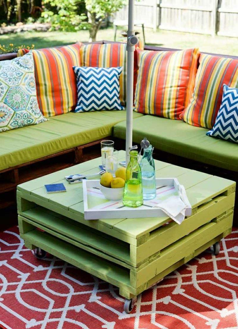 50 Ideen für Möbel aus Europaletten - bastelideen, Möbel - ZENIDEEN