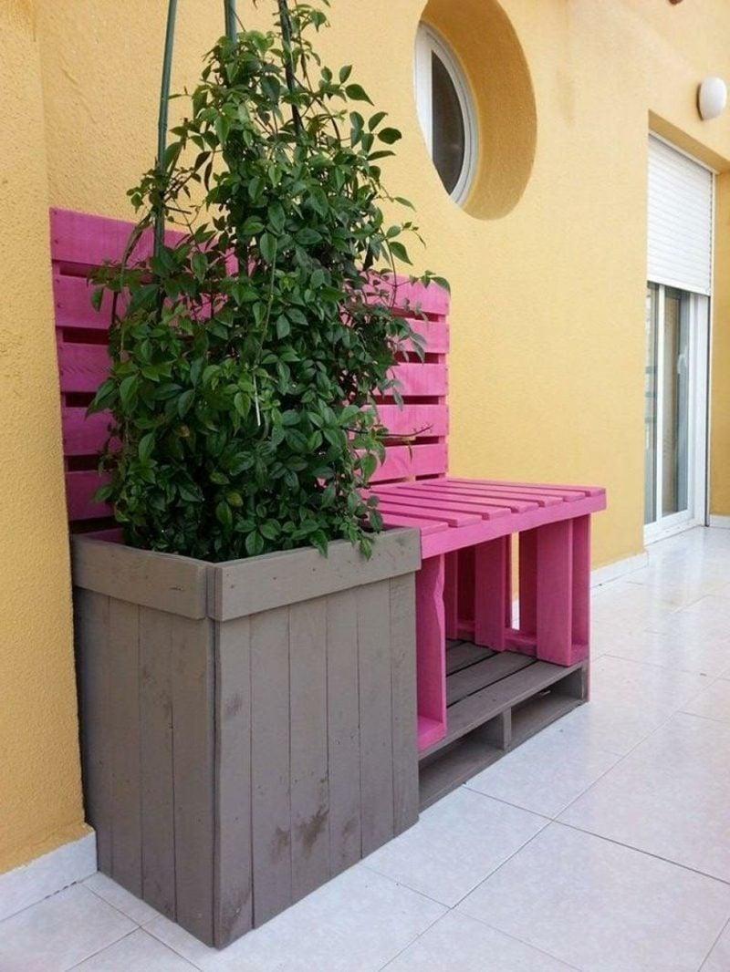 Tolle Ideen für Palettenmöbel im Garten