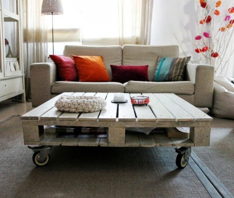Gartensofa für mehrere Personen Möbel aus Europaletten