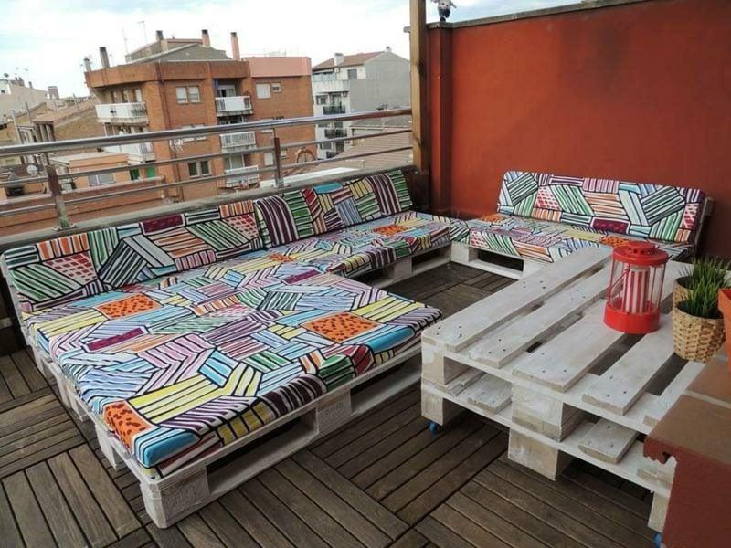 perfekt für die Anwendung auf dem Balkon