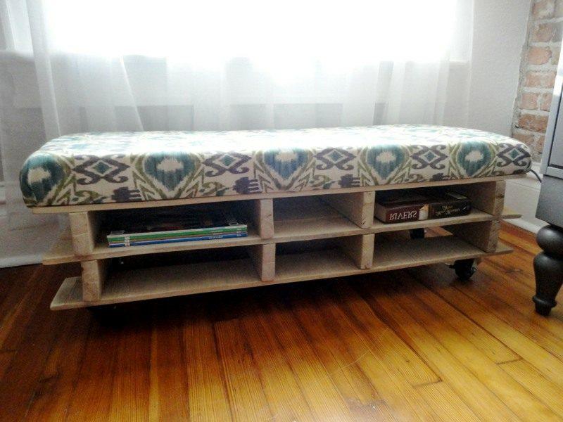 Fertigen Sie originelle Möbel aus Paletten an