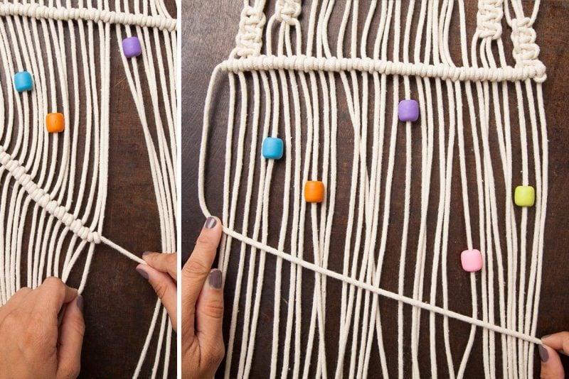 Wandbehang selber machen anleitung wandgestaltung ideen