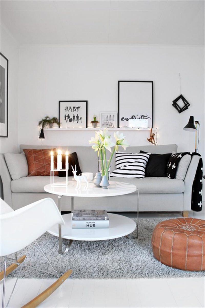 Kleines wohnzimmer einrichten   70 frische wohnideen ...