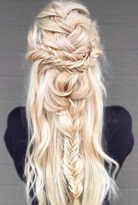 blonde haare trendfarbe haarfarbe haare blondieren