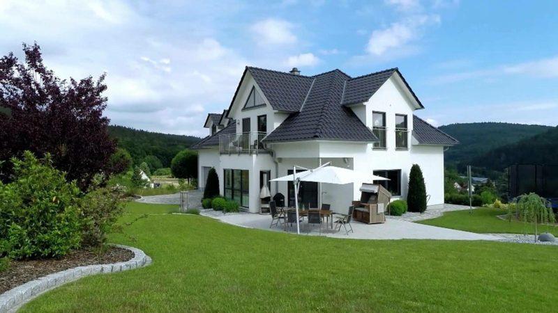 Einfamilienhaus bauen herrliche Ideen Traumhäuser