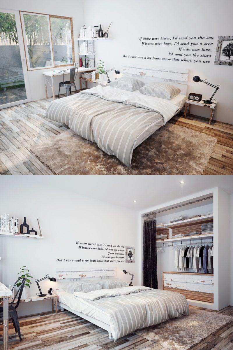 schlafzimmer ideen skandinavisches schlafzimmer gestalten