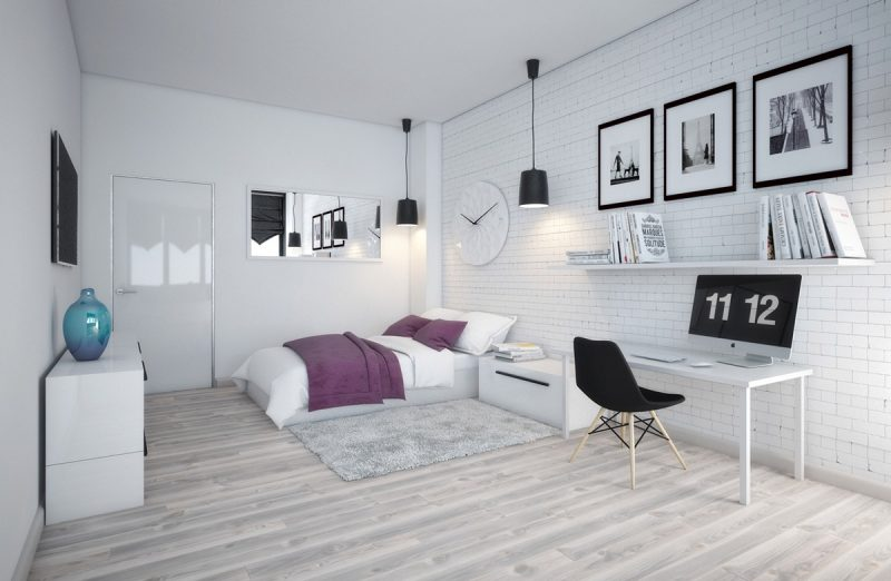 Elegant Skandinavisches Schlafzimmer Einrichten Ideen