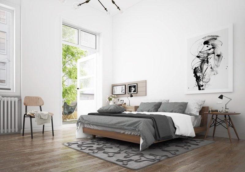 schlafzimmer design einrichtungsideen skandinavische möbel schlafzimmer dekoration