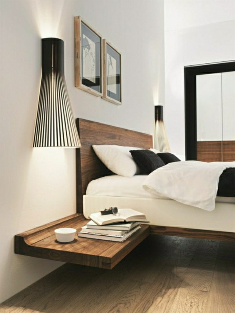 nachttisch zum einh ngen praktische schlafzimmerl sung m bel schlafzimmer zenideen. Black Bedroom Furniture Sets. Home Design Ideas
