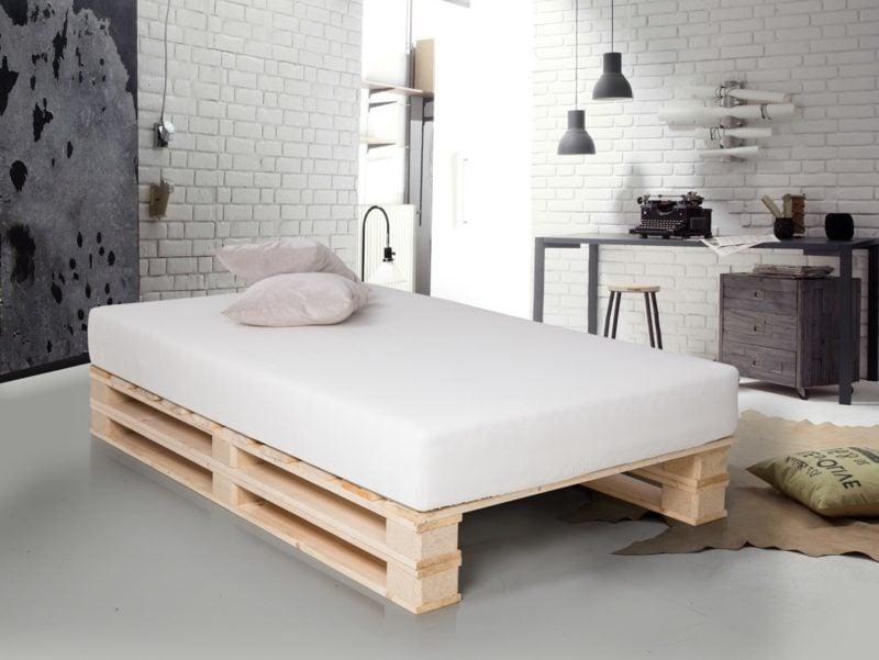 Tolle Ideen Für Palettenbett Im Schlafzimmer