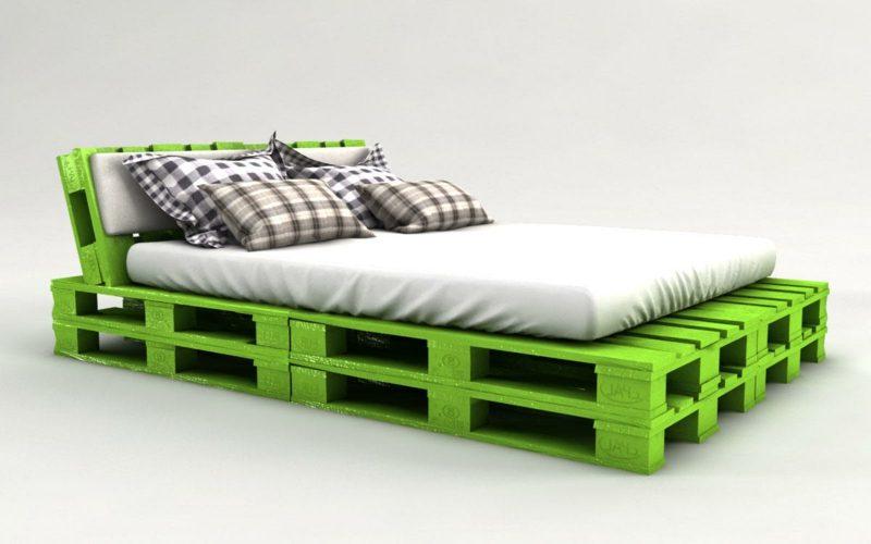 52 diy palettenbett designs m bel schlafzimmer zenideen - Palettenbett bauen ...