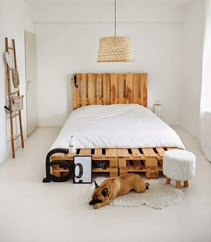 52 DIY Palettenbett Designs
