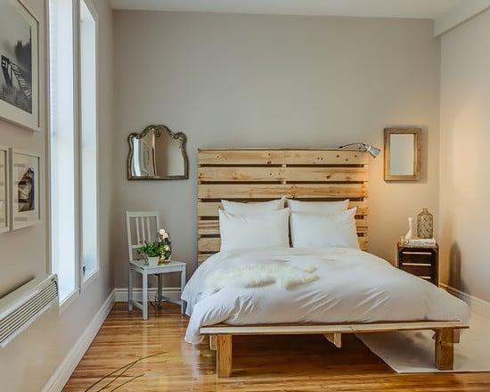 Bett selber bauen ist leichte aufgabe 2 diy bauanleitungen diy m bel zenideen - Palettenbett ideen ...
