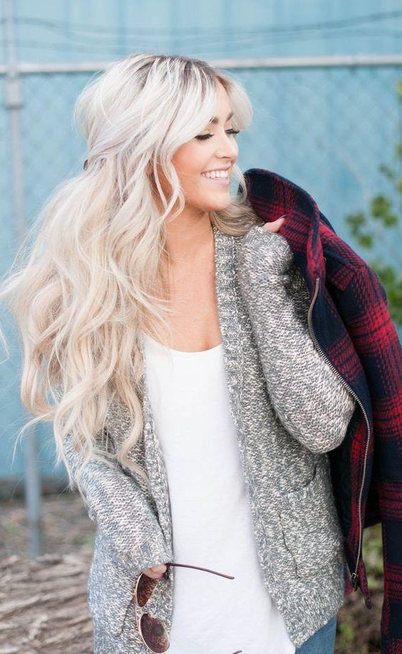 blonde haare 21 tolle frisurideen und pflegetipps frisurentrends mode zenideen. Black Bedroom Furniture Sets. Home Design Ideas