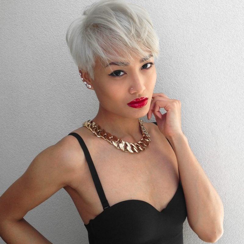 blonde haare trendfarbe haarfarbe haare blondieren bob kurzhaarschnitte