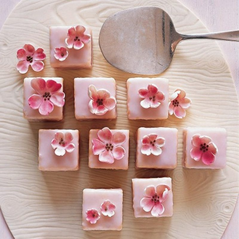 Snacks Rezepte süss Party Kirschen und Mandelcreme
