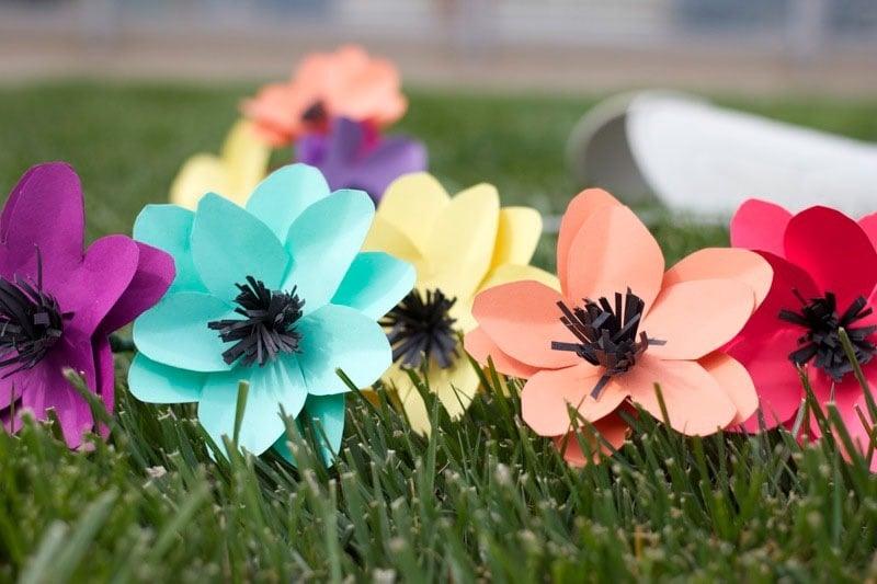 Blumen Aus Papier Basteln blumen basteln 3 anleitungen und 30 tolle ideen deko feiern